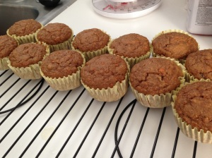 Our First Attempt at Muffin Making