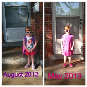 Orange's First and Last Days of School