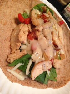 Featured Meal: Chicken Cesar Wraps