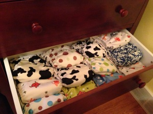 The Overnight Diaper Drawer