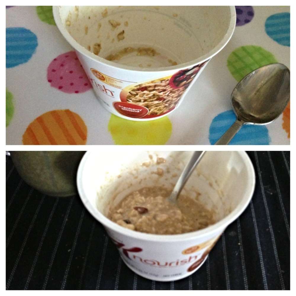 Bzzagent Product Review: Special K Nourish Hot Cereal and Cereal Bars (2/3)