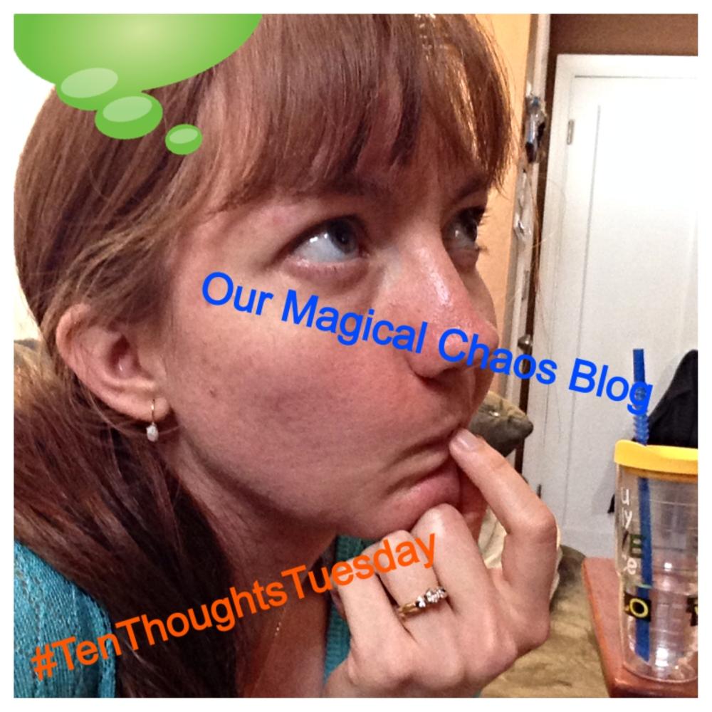 #TenThoughtsTuesday ... I'm Baaaaccckkkk! (1/2)