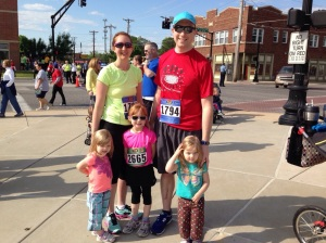 Our Happy Runner Family